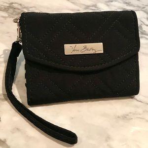Vera Bradley black iPhone 5 wristlet wallet
